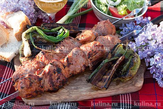 Шашлык из телятины в кефире: рецепт и фото