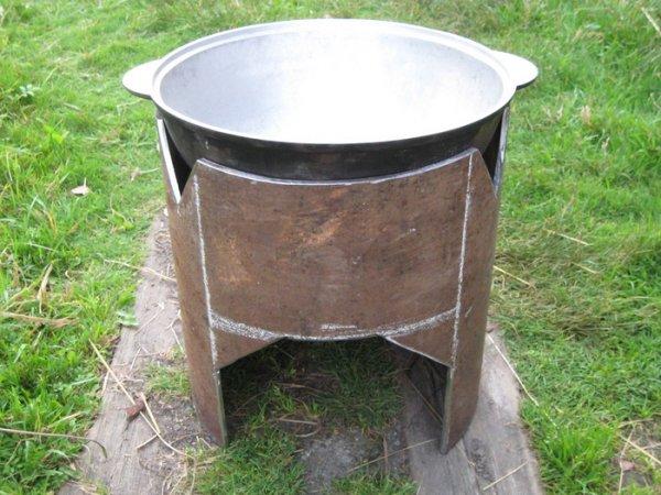 Знакомство с восточной кухней: печь для казана своими руками