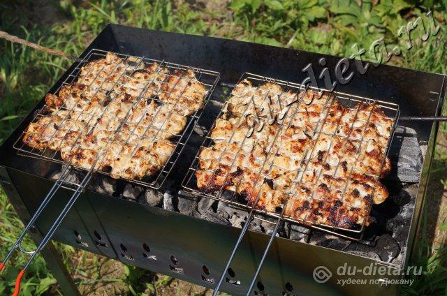 Как вкусно замариновать и приготовить сочный индюшиный шашлык?