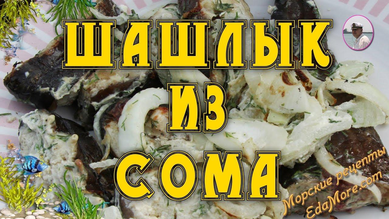 Шашлык из сома: как замариновать и приготовить на мангале по рецепту
