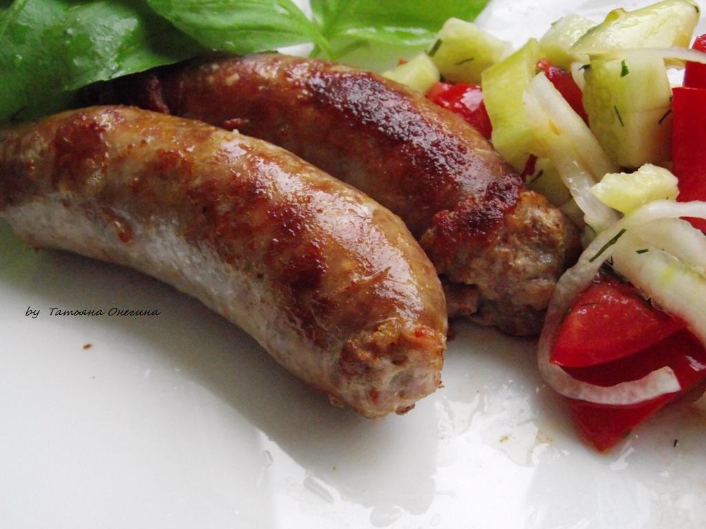 Колбаски для гриля: рецепт приготовления в домашних условиях