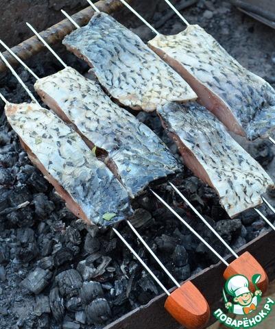 Как приготовить карпа на мангале