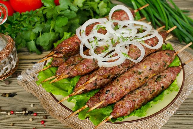 Как приготовить люля-кебаб из баранины – и в виноградных листьях. рецепт люля-кебаб из баранины