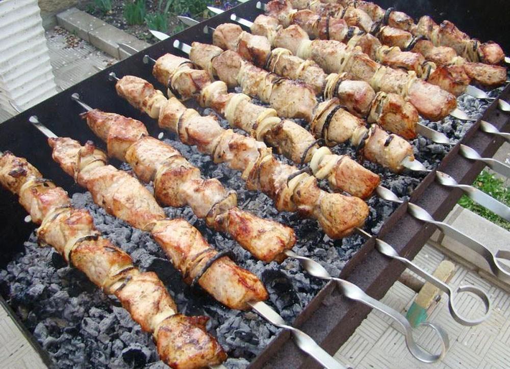 Маринад для шашлыка из свинины на минеральной воде