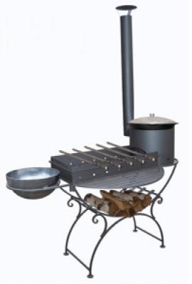 Как сделать печь для казана своими руками