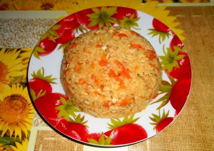 Пошаговый рецепт плова со свининой в казане