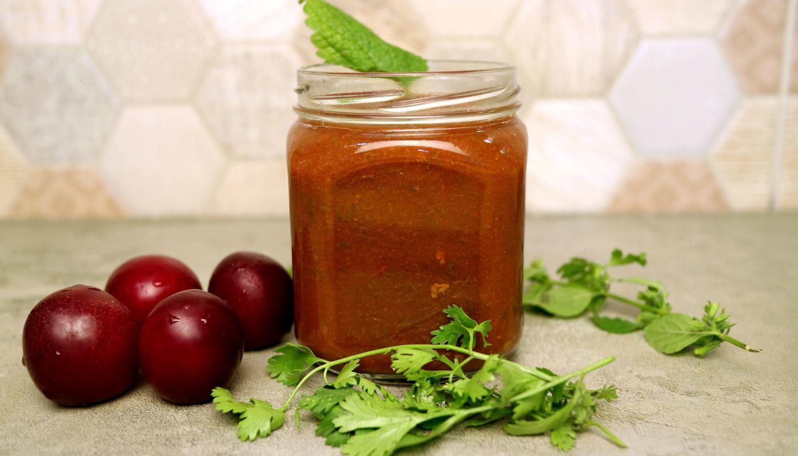 3 простых рецепта соуса ткемали