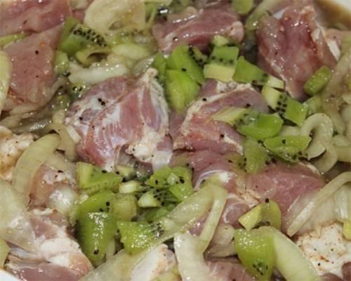 Рецепт шашлыка маринованного в киви