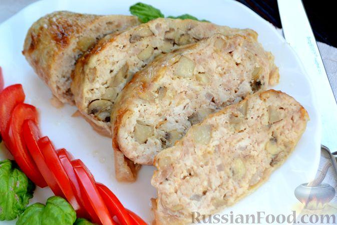 Куриные окорочка фаршированные сыром и чесноком