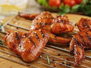 Шашлык из куриных крылышек – 6 самых вкусных рецептов