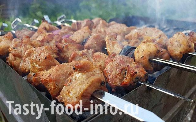 Шашлык из свинины с киви - пошаговый рецепт с фото |  блюда из мяса