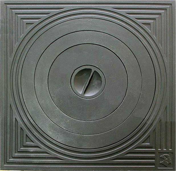 Чугунные плиты под казан со съемными кольцами