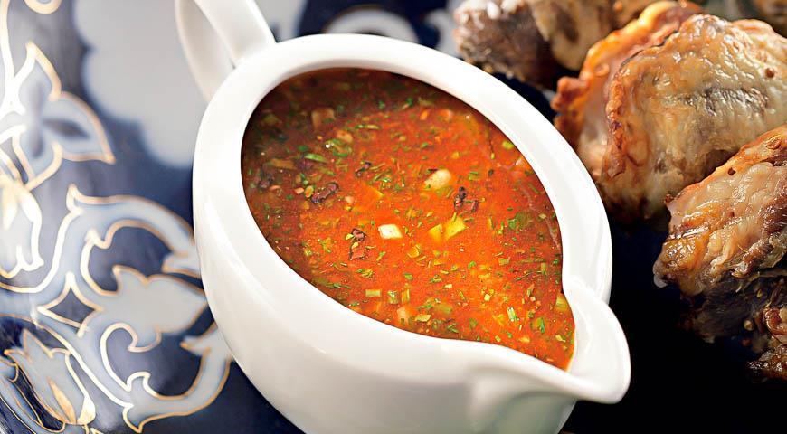 Соус для шашлыка с кинзой: рецепт с фото пошагово. как приготовить томатный соус к шашлыку с кинзой?