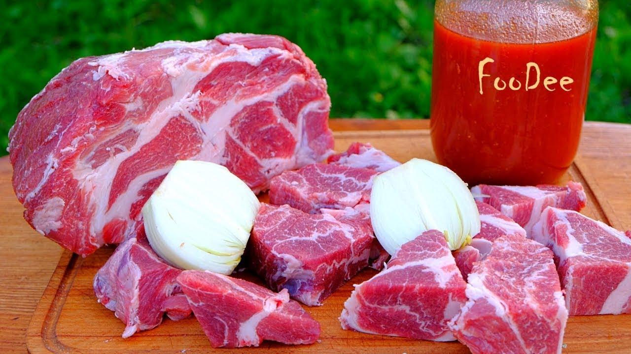 Маринад для шашлыка из свинины  несколько способов как мариновать свинину на шашлык с майонезом