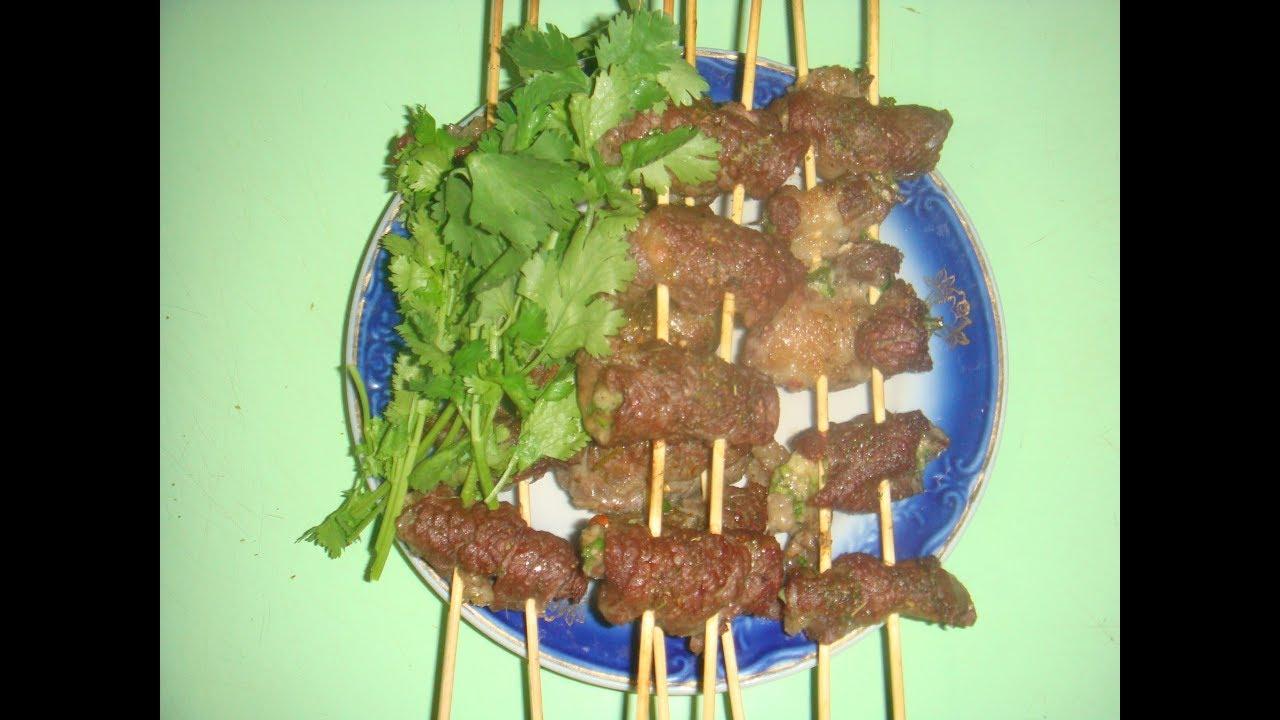 Шашлык из говядины в духовке: рецепт и фото