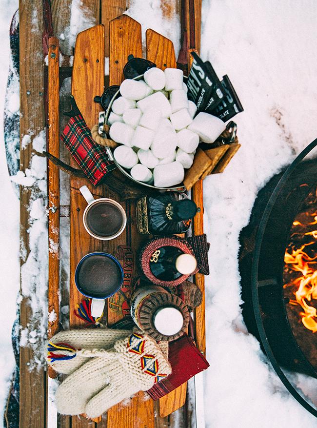 Как организовать зимний пикник с детьми