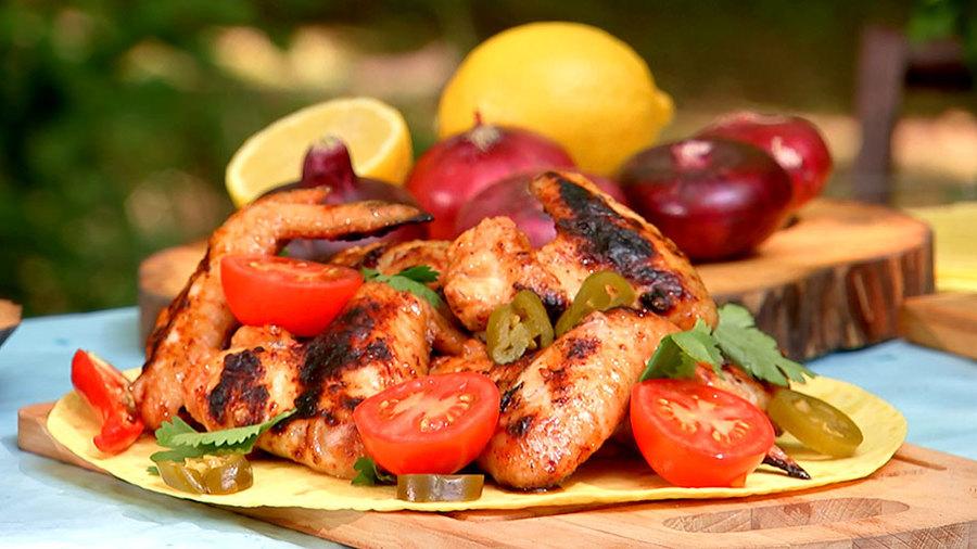 Рецепт шашлыка из куриных крылышек - 8 пошаговых фото в рецепте