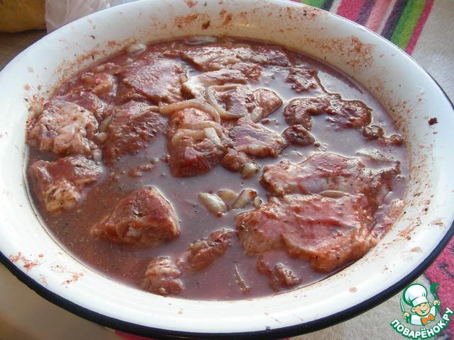 Рецепт шашлыка в томатном соусе