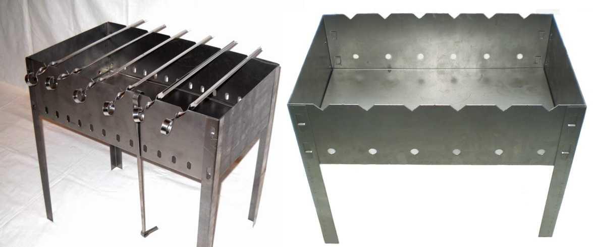 Просто и рационально: делаем мангал из металла своими руками