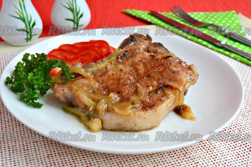 Стейк из свинины в фольге: рецепт с фото пошагово