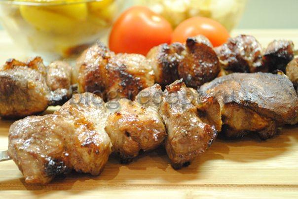 Классический рецепт шашлыка из свинины с уксусом