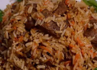 Рецепт узбекского плова со свининой. пошаговая инструкция и мастер класс