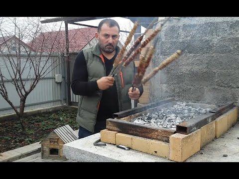 Рецепт люля-кебаба из свинины на мангале