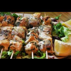 Шашлык из осетрины: рецепты правильного рыбного шашлыка