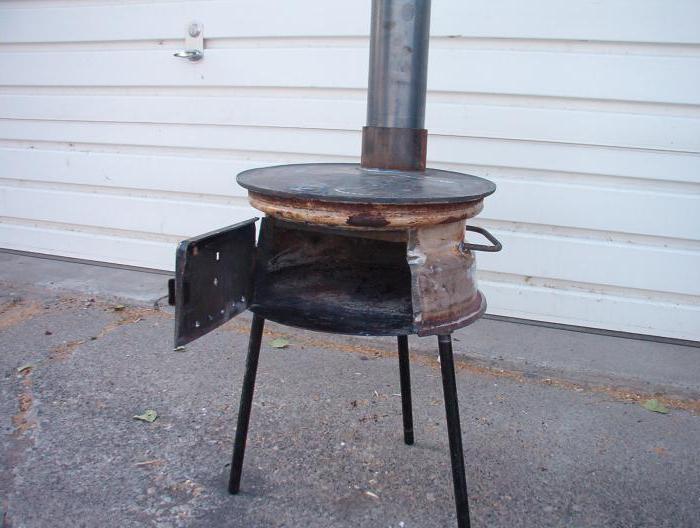 Печь для казана своими руками: как сделать устройство из металла или автомобильных дисков, газовая печка под казанную установку