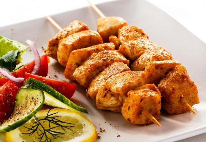 Рецепт шашлыка из курицы в духовке