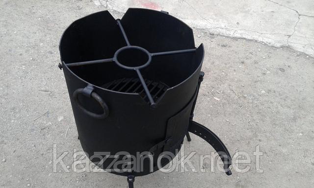 Удобство газовой горелки для казана