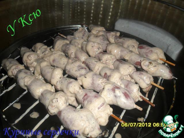 Шашлык куриных сердец в духовке. шашлык из куриных сердечек в аэрогриле. куриные сердечки в кляре
