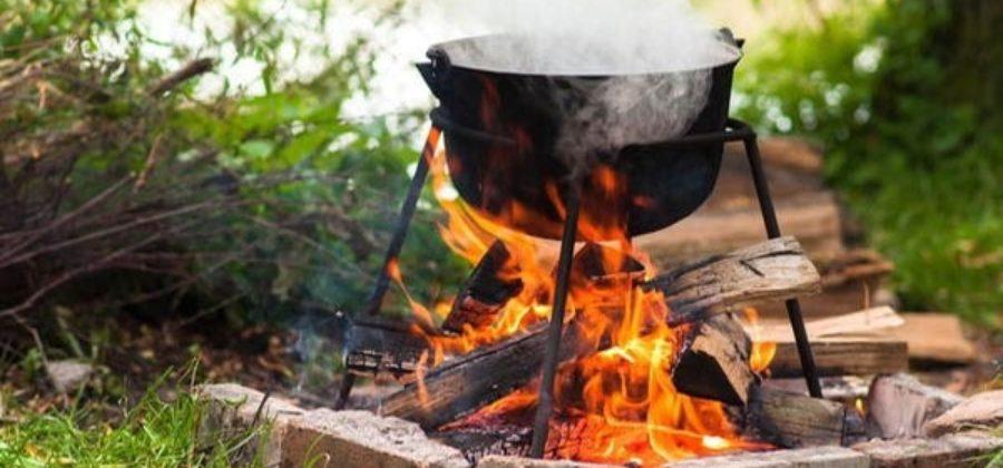 Как выбрать печь для казана: с трубой и без, обзор моделей, цены
