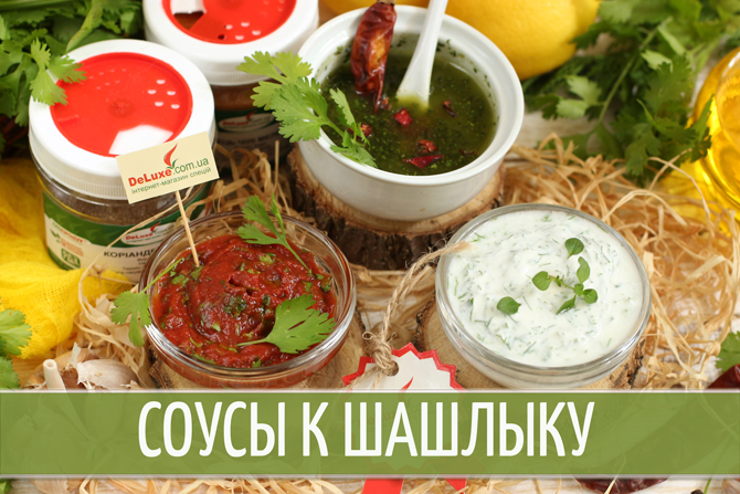 Рецепты соуса для шашлыка: просто и быстро в домашних условиях