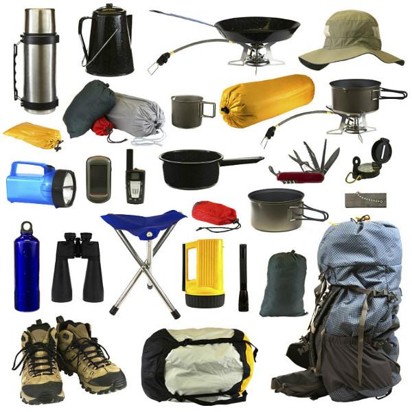 Список вещей в поход с палатками