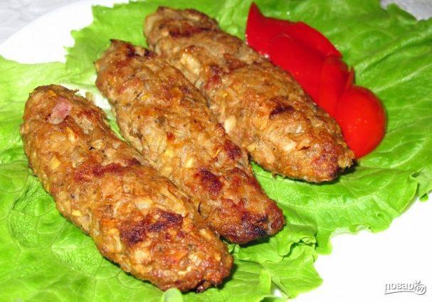 Люля кебаб из баранины на мангале, сковороде и в духовке: тонкости приготовления, ингредиенты, пошаговая инструкция