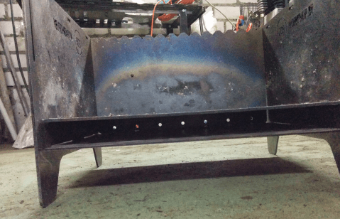 Делаем мангал из металла своими руками