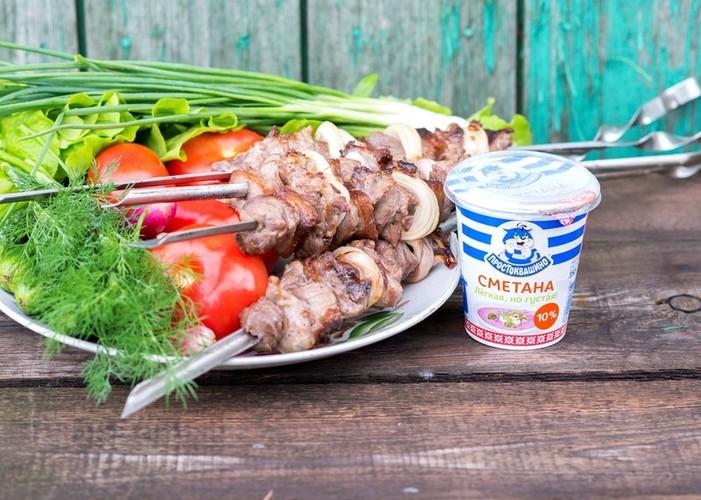 Шашлык из свинины в сметане | шашлык - про