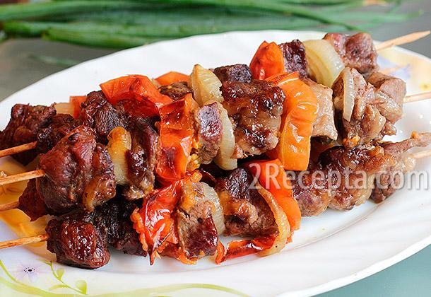 Шашлык в банке в духовке из свинины, курицы, говядины. рецепт вкуснее, чем на мангале в собственном соку, соевом соусе, пиве