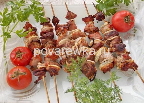 Маринад для шашлыка из говядины с уксусом