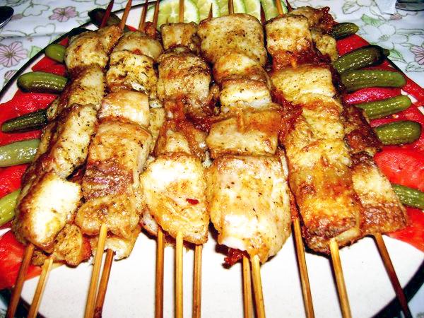 Блюда для дачи и пикника. рецепт шашлыка из сома