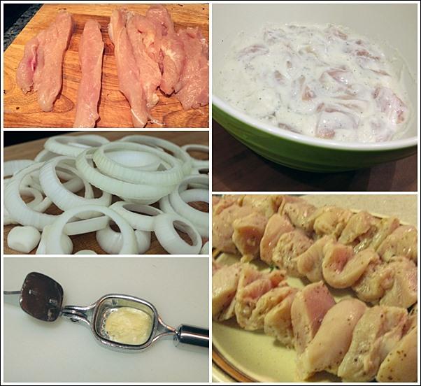 Шашлык на кефире из свинины и курицы — 9 рецептов