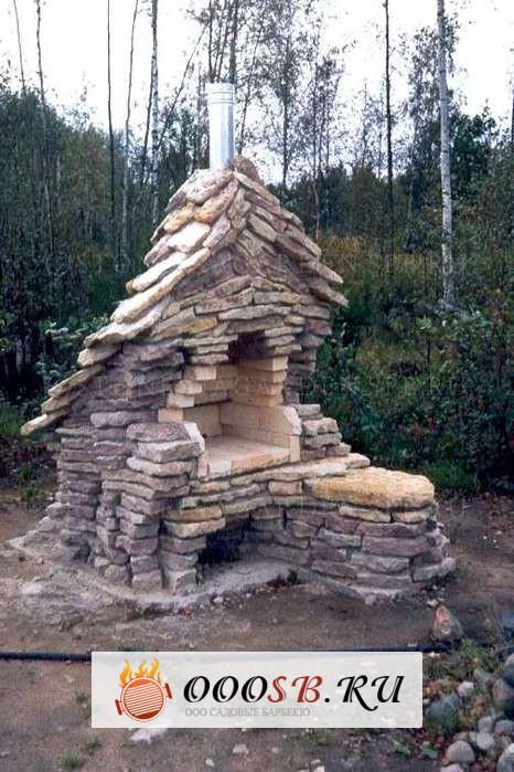 Строительство своими руками мангала из камня пошаговое руководство
