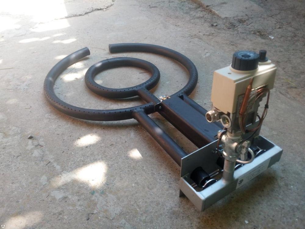 Как изготовить газовую горелку для казана в домашних условиях