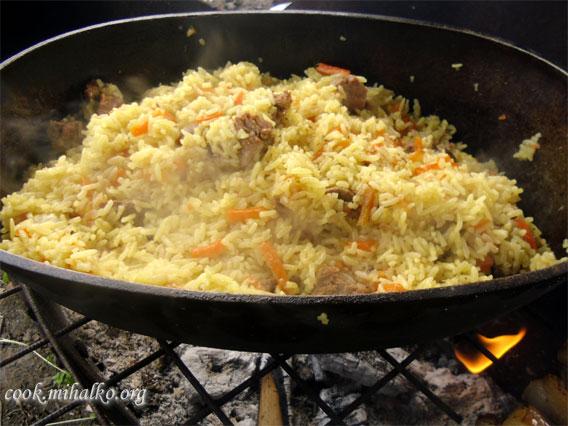 Узбекский плов с бараниной: рецепт с фото