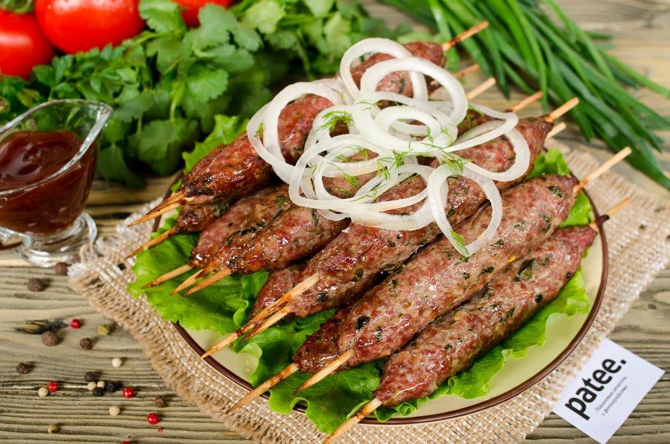 Пошаговый рецепт приготовления люля-кебаба из говядины
