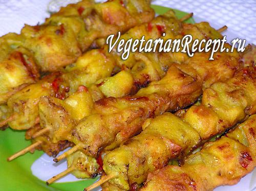 Рецепт: сейтан или пшеничное мясо | первый вегетарианский