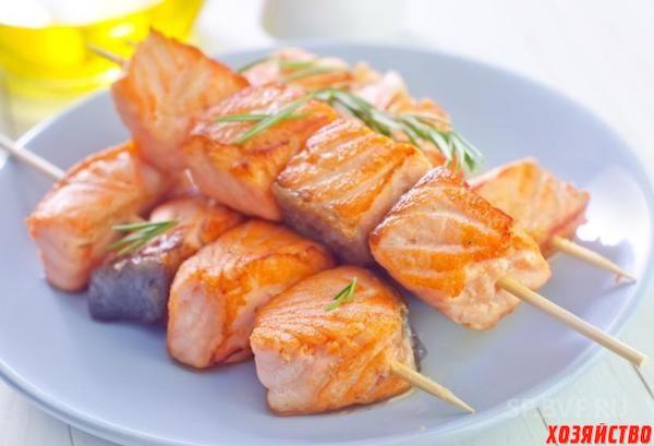 Шашлык из сома в духовке - рецепт с фотографиями - patee. рецепты