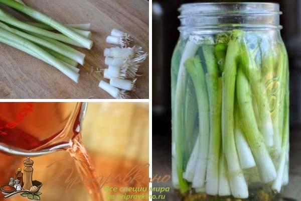Как сделать лук с уксусом к шашлыку