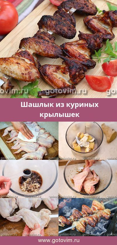 Рецепт куриных крыльев на мангале - 7 пошаговых фото в рецепте